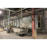 """EISENMANN 24"""" WIDE X 72"""" HIGH OPENING WASHER, S/N A40-324-01, 3 STAGE SALE OF THIS LOT IS SUBJECT TO"""