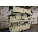 DREIS & KRUMP 100 TON PRESS BRAKE, S/N 5995, 10' OVERALL LENGTH OF BED, LOWER DIE HOLDER Loading