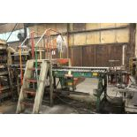 """POWER ROLLER CONVEYOR, APPROX. 11' X 40"""" X 47""""H, SALE OF THIS LOT IS SUBJECT TO BULK BID #1, IF"""