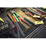 """(2) COMPOUND SHEARS AND 14"""" BOLT CUTTERS"""