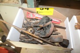 ASSORTED DRILL BITS & HOLE SAWS