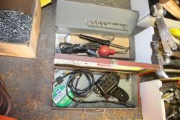 (2) ASSORTED SOLDERING TOOLS