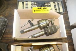KEYLESS DRILL CHUCK & JACOBS DRILL CHUCK WITH KEY