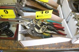 ASSORTED SNIPS & PLIERS IN BOX