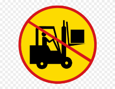 No Loading Available - No Forklift Onsite