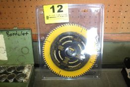 "DEWALT 10"" CARBIDE TIPPED SAW BLADE"