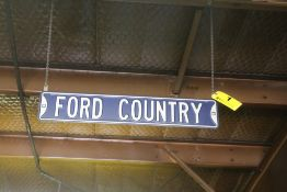 FORD COUNTRY SIGN