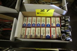 ASSORTED SKF BEARINGS & ACCESSORIES IN BOX