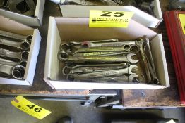 ASSORTED WRENCHES IN BOX