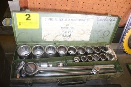 "INDUSTRIAL TOOLS 21 PIECE 3/4"" SOCKET SET"