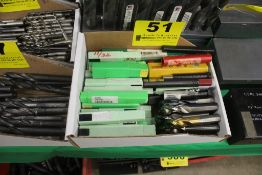 LARGE QTY OF DRILL BITS (APPEAR NEW)