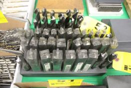 (32) DRILL BITS IN INDEX