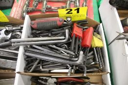 LARGE QTY OF ALLEN WRENCHES