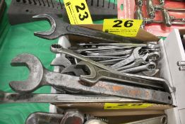 LARGE QTY OF WRENCHES