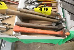 ASSORTED BALL PEEN HAMMERS & MALLETS