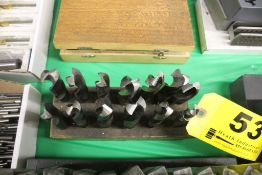 (13) DRILL BITS IN BLOCK