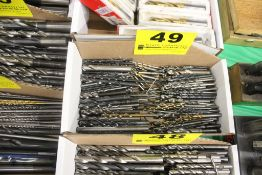 LARGE QTY OF DRILL BITS