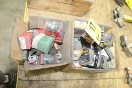 Lot: Assorted Bearings in (2) Boxes