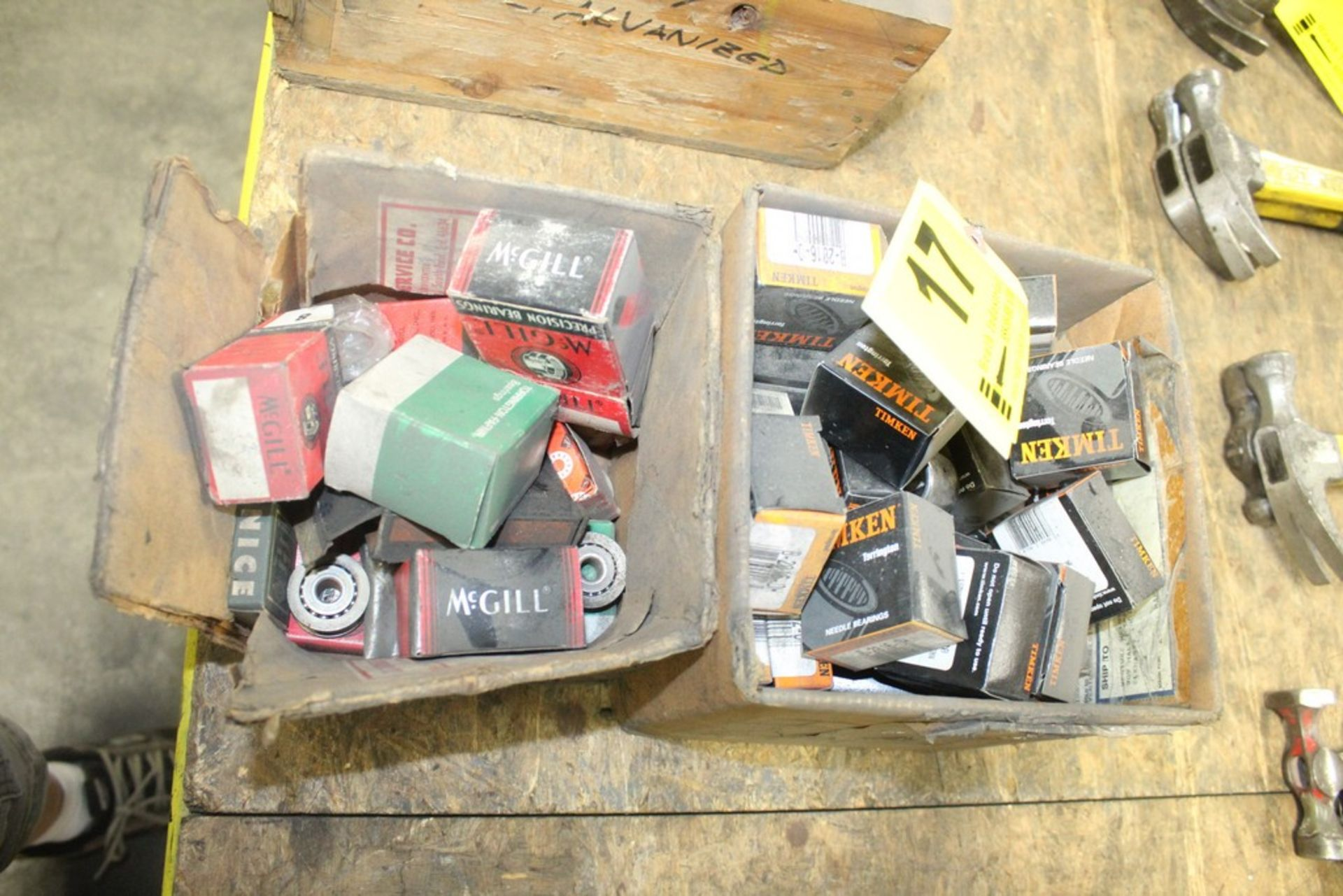 Lot 17 - Lot: Assorted Bearings in (2) Boxes
