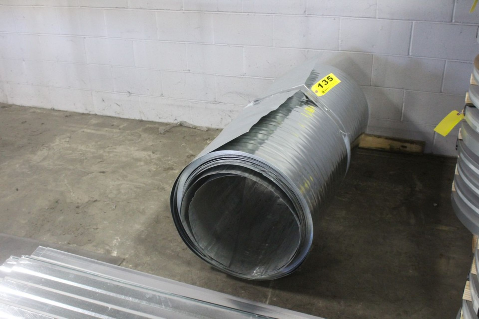 Lot 135 - Lot: Roof Material - Sheets and Rolled into a Coil