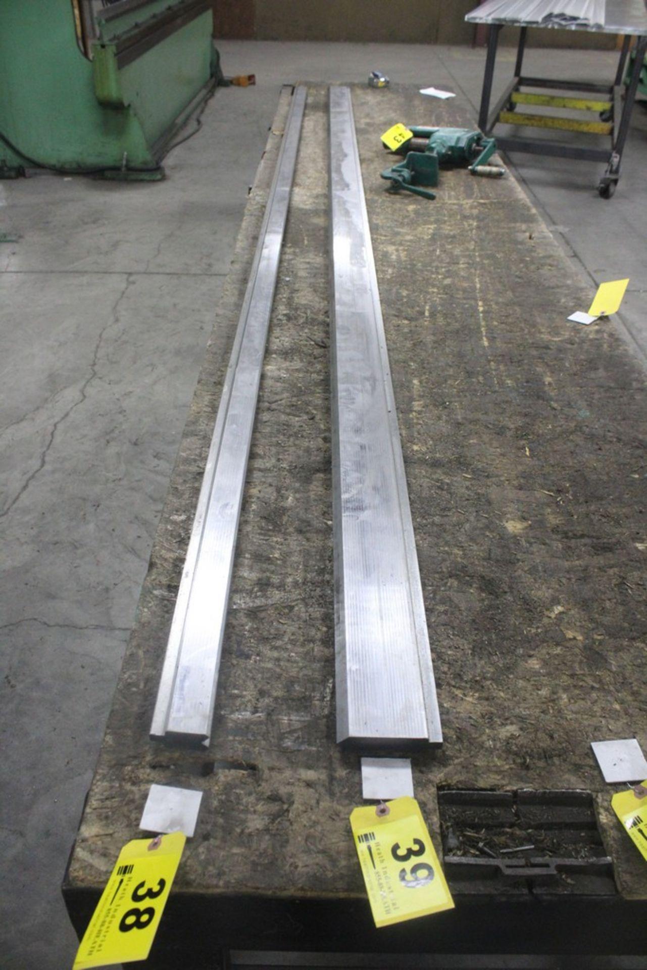 "Lot 39 - 90 Degree Punch: 145"" x 4"" H"