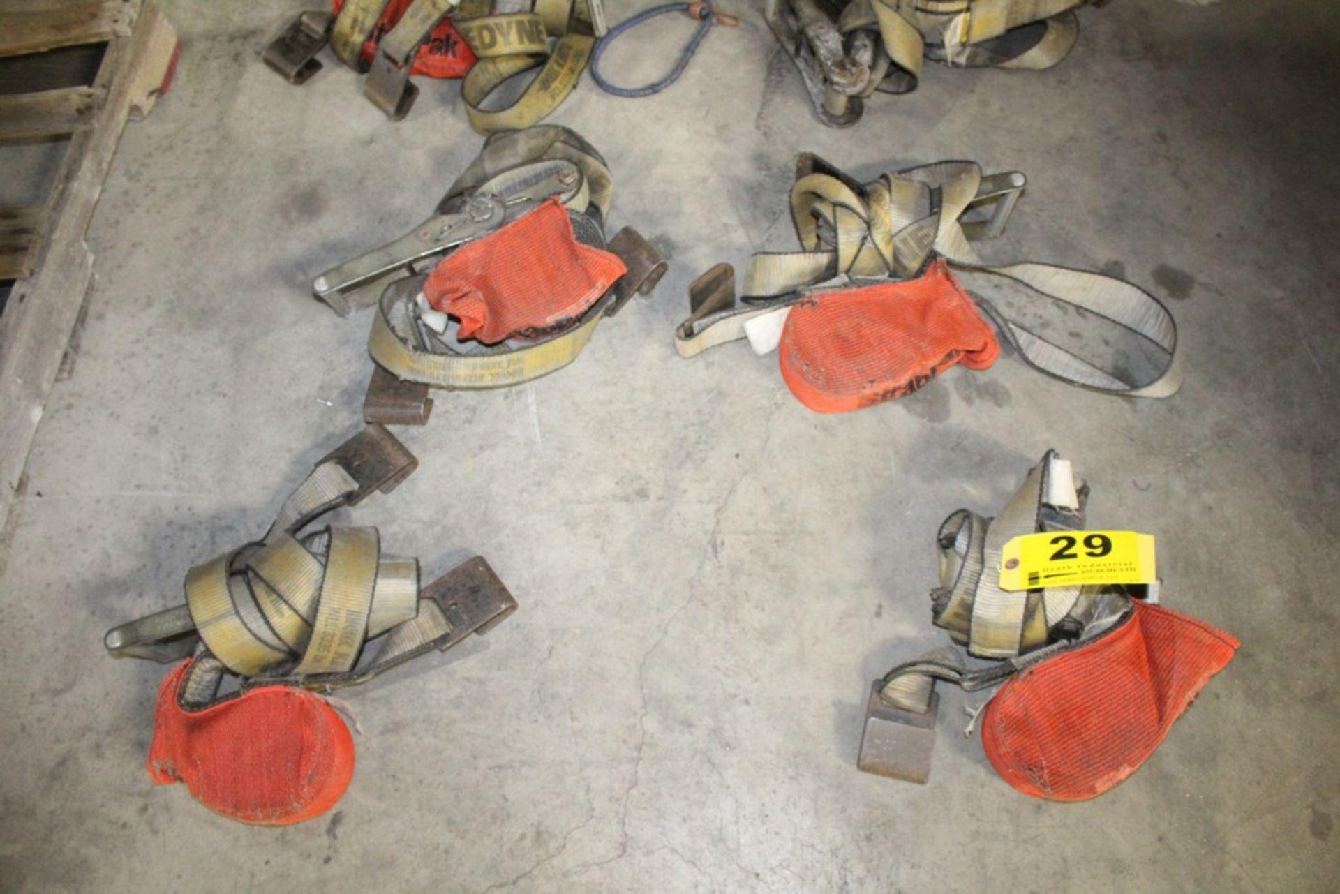 Rachet & Tie Down Straps - (8) Total Complete Pieces - Image 4 of 4