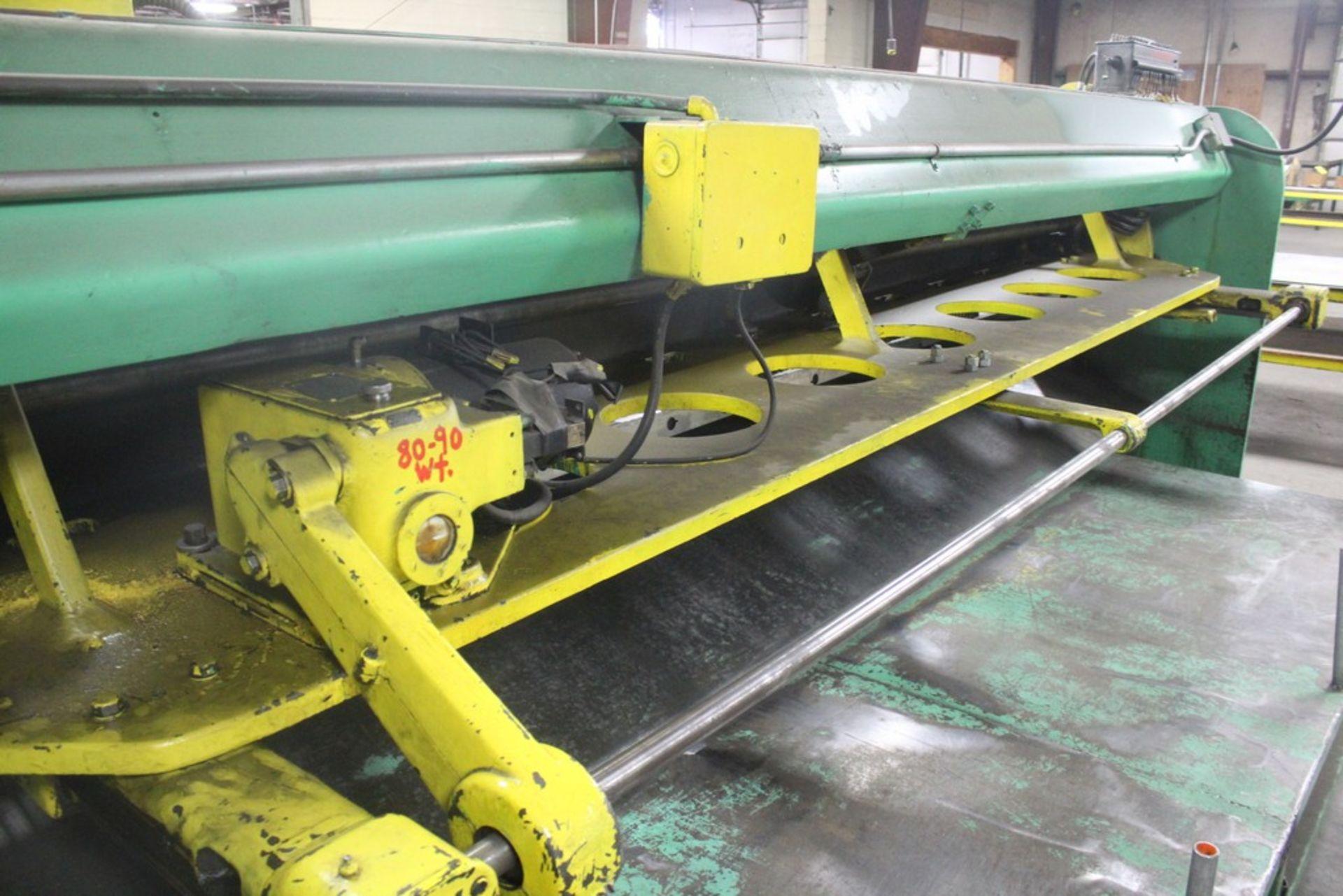 Lot 44 - Cincinnati Model 1014 Mechanical Power Squaring Shear, Serial Number: 10726 14' x 12 Ga Capacity -