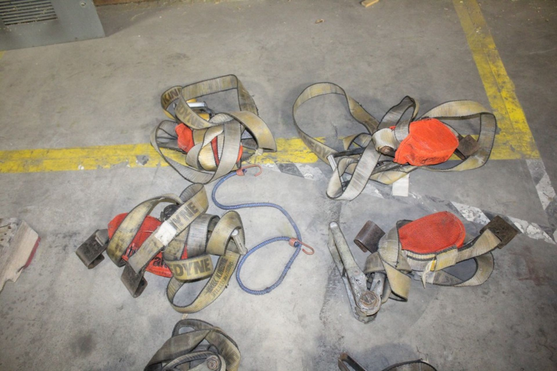 Rachet & Tie Down Straps - (8) Total Complete Pieces - Image 3 of 4