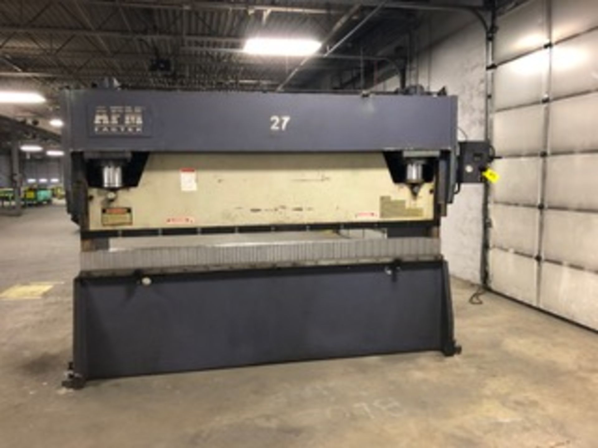 AFM Fabtek Model MPF31-165 Hydraulic Power Press Brake, Serial Number: CHPB9-90080T 165 Tons - - Image 2 of 8