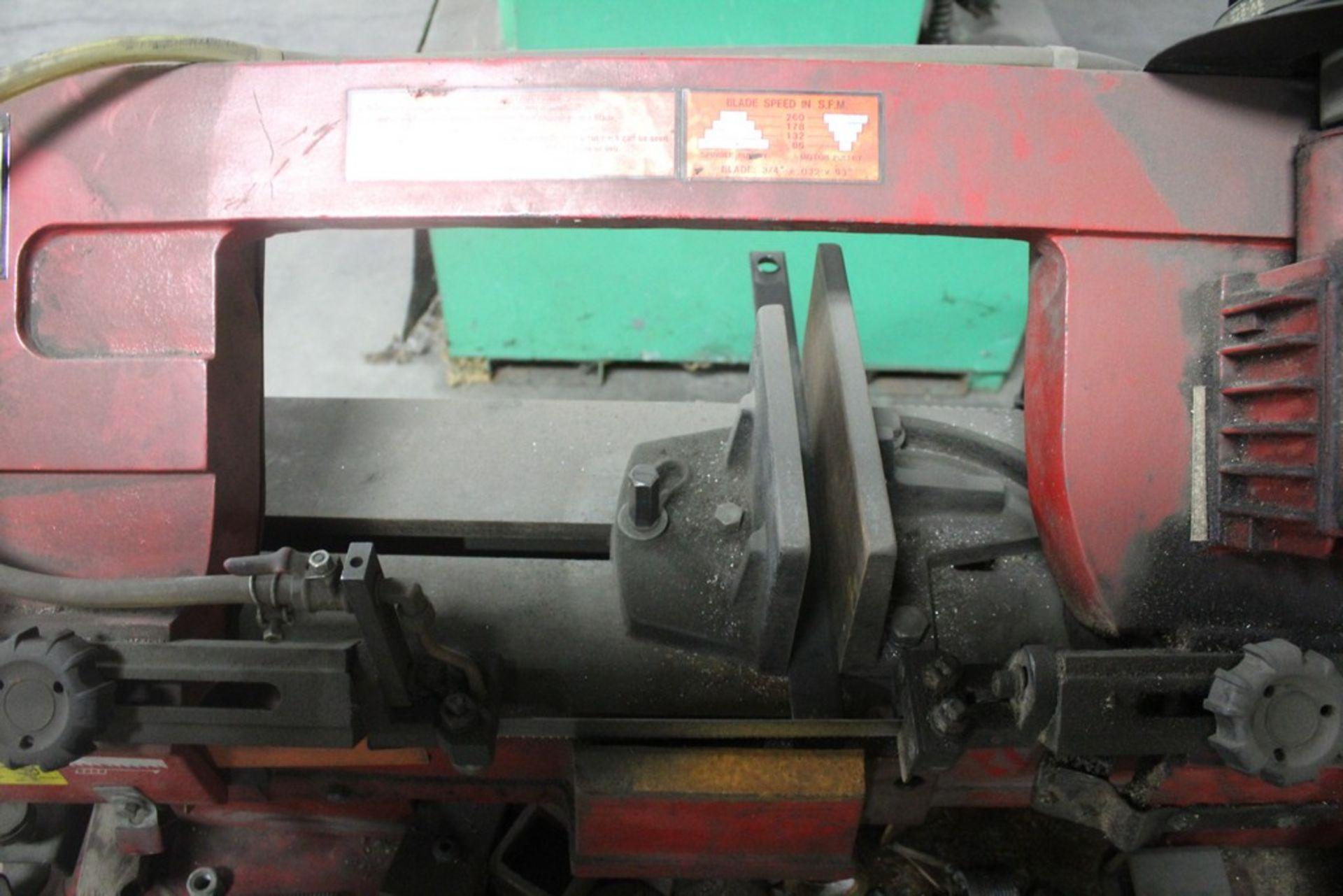 """Lot 24 - Grand Rapids Industrial Model 75584 7"""" Horizontal Metal Cutting Bandsaw,Serial Number: 8064121 ("""