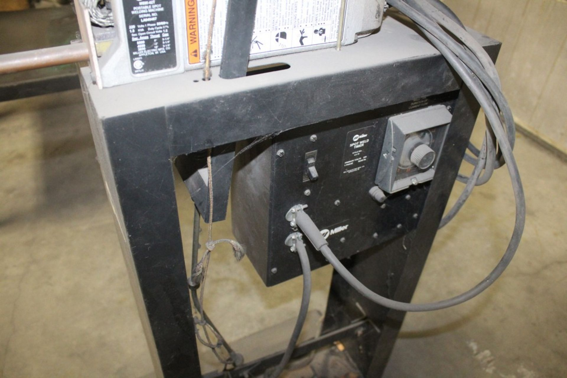 Miller Model MSW-42T Single Phase 1.5 KVA Spot Welder, Serial Number: LA049487 - Image 5 of 5