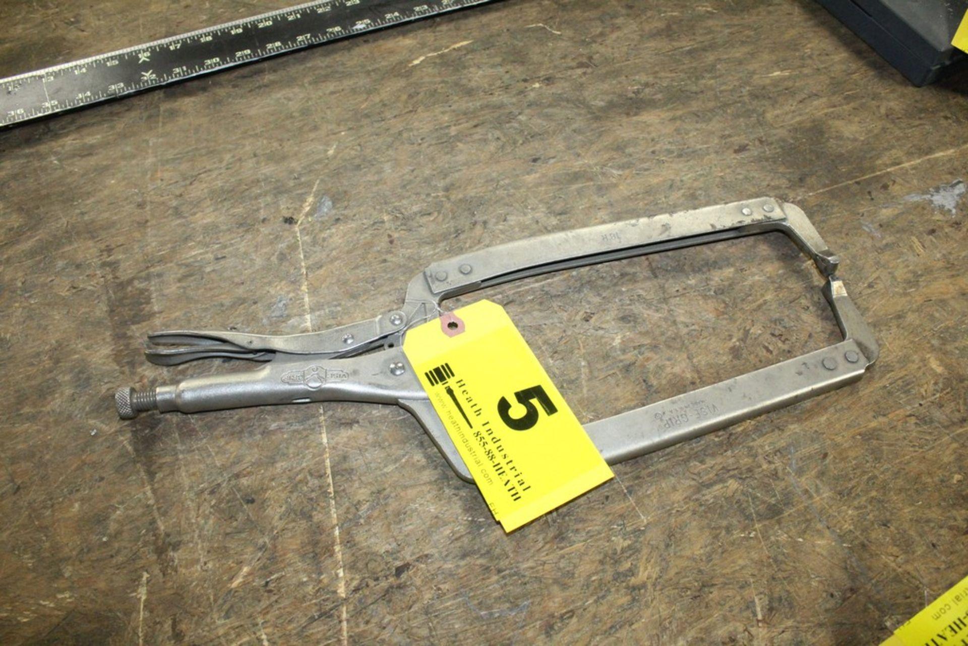 Lot 5 - Vise Grip Model 18R Pliers