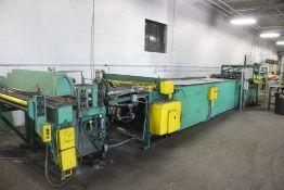 "Riblet Products 48"" x 16 Ga Cut to Length Line Consisting of: 48"" x 16 ga Cut Off Shear - 2"" Mesa"
