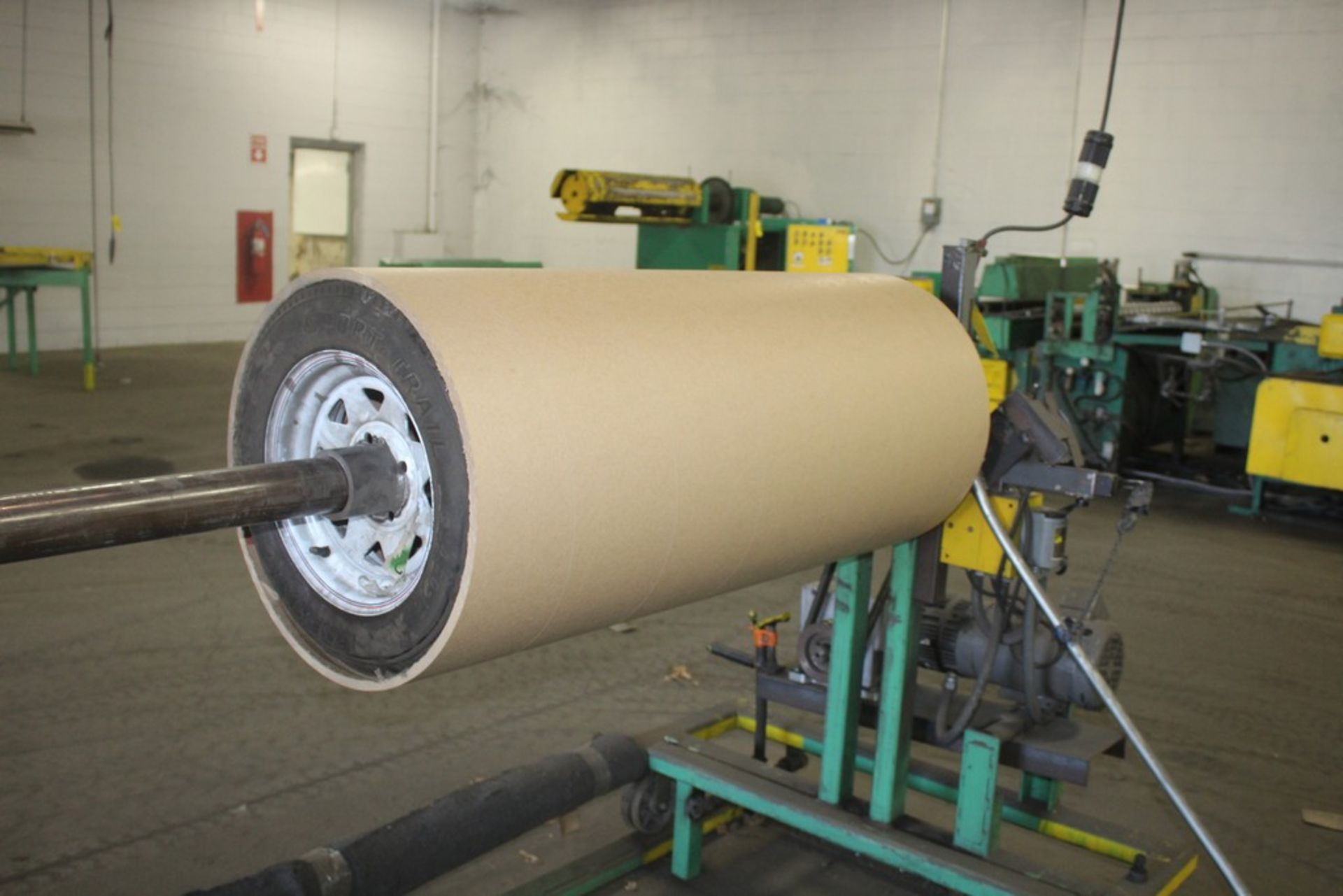 """Lot 49 - 72"""" Width x 4000 Lbs Motorized Pay Off Reel, Serial Number: N/A"""