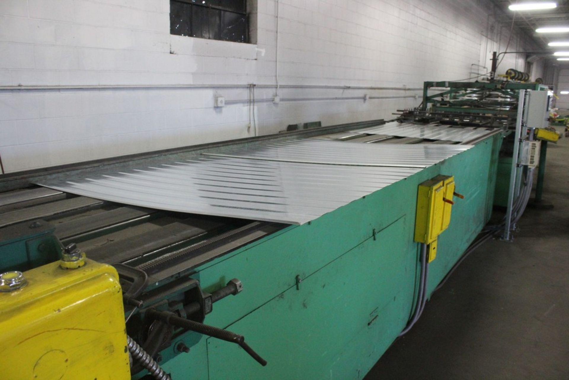 "Lot 48 - Riblet Products 48"" x 16 Ga Cut to Length Line Consisting of: 48"" x 16 ga Cut Off Shear - 2"" Mesa"