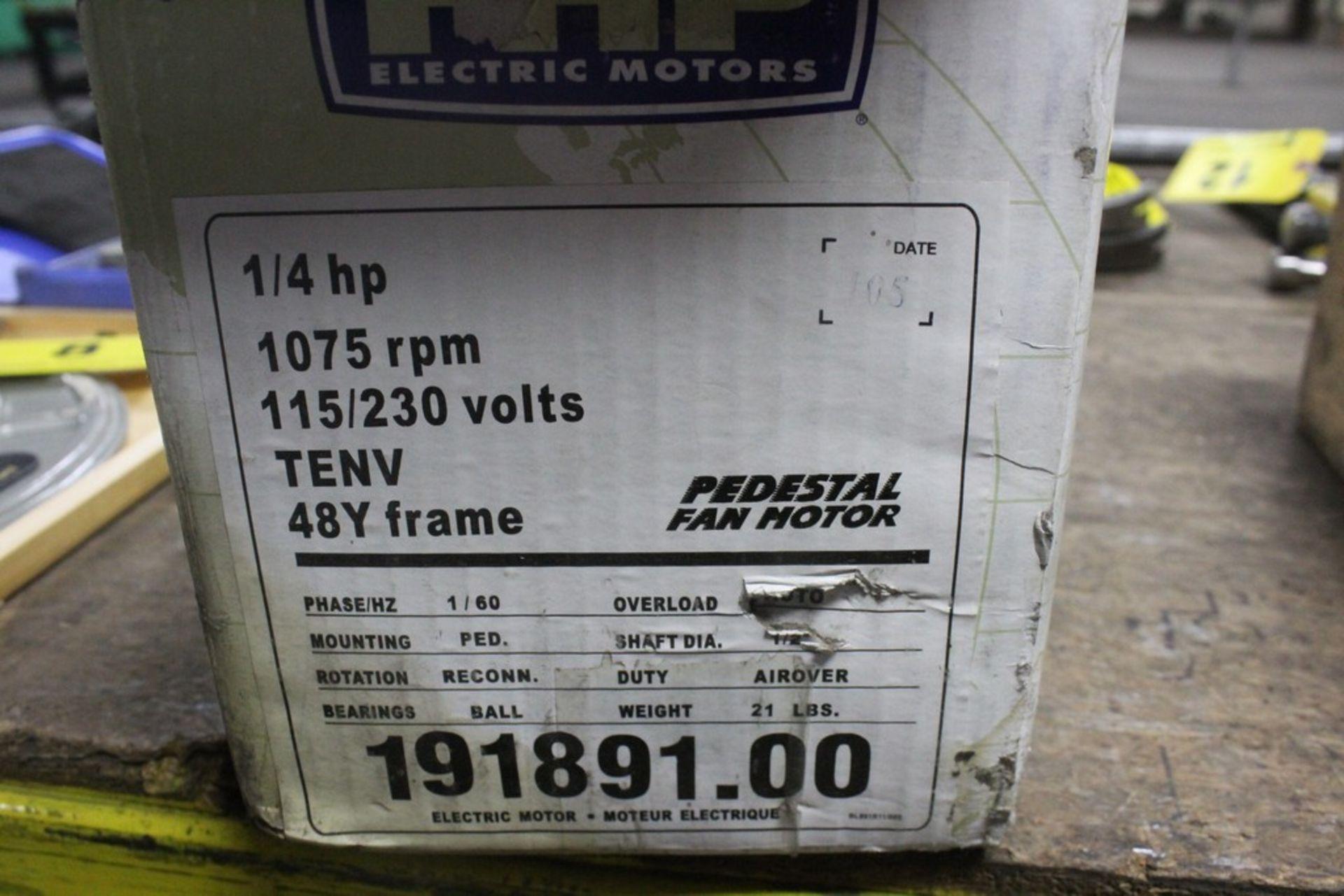 1/4 Hp 48Y Frame AC Motor - 115/230V - New in Box - Image 2 of 2