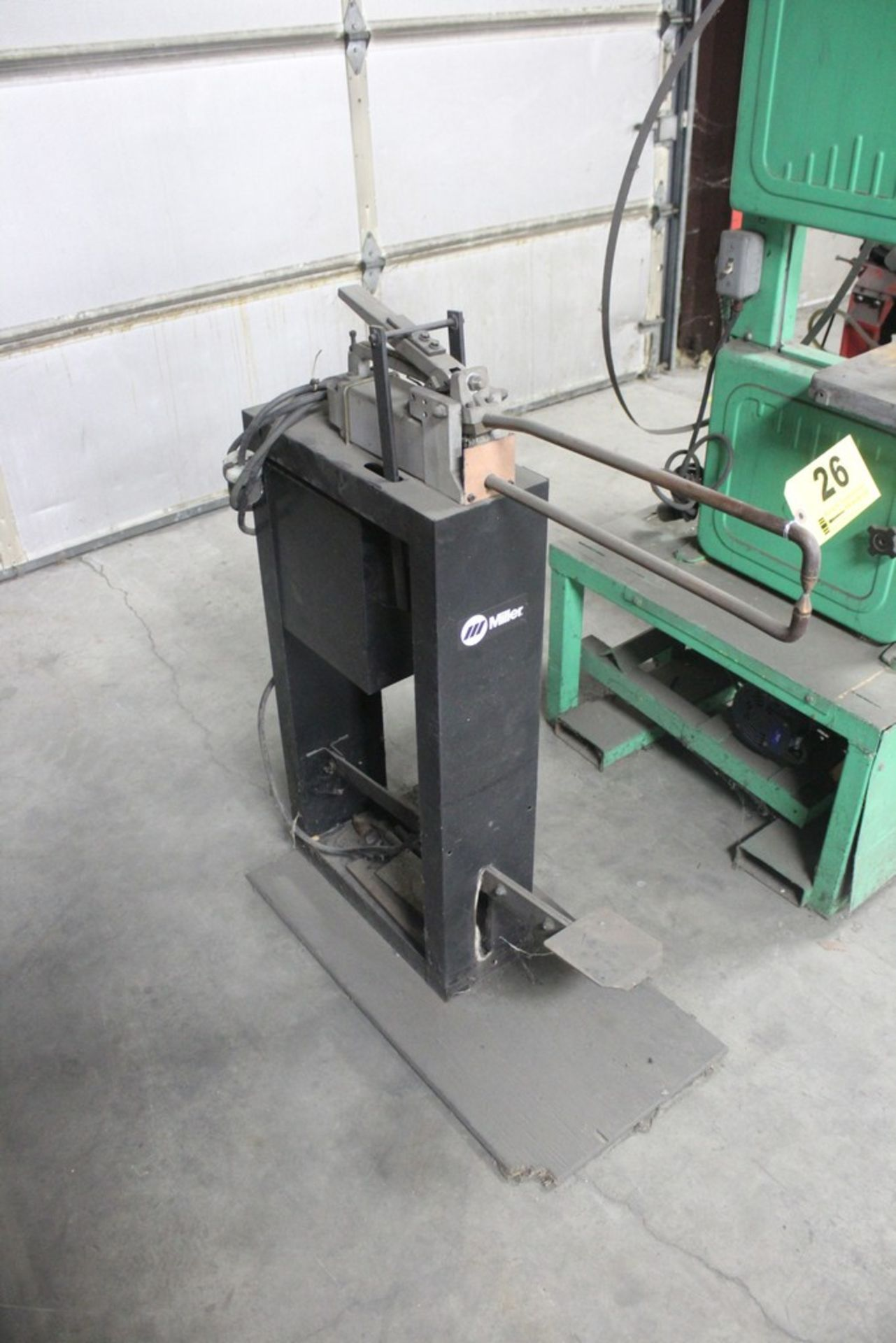 Miller Model MSW-42T Single Phase 1.5 KVA Spot Welder, Serial Number: LA049487