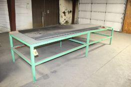 """48"""" x 144"""" x 33"""" H Heavy Duty Steel Work Table"""