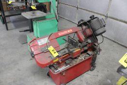 """Grand Rapids Industrial Model 75584 7"""" Horizontal Metal Cutting Bandsaw,Serial Number: 8064121 ("""