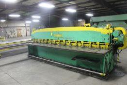 Cincinnati Model 1014 Mechanical Power Squaring Shear, Serial Number: 10726 14' x 12 Ga Capacity -
