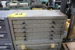 FIVE DRAWER DRILL INDEX CABINET (EMPTY)