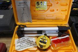 JOHNSON MODEL 9100 MO-0909 LASER LEVEL KIT
