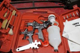HUSKY 34 PIECE GRAVITY FED SPRAY GUN KIT