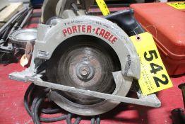 "PORTER CABLE MODEL 743 7-1/4"" CIRCULAR SAW"