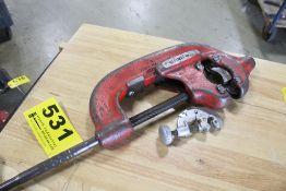 RIDGID NO. 44-S PIPE CUTTER & SMALL PIPE CUTTER
