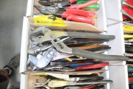 LARGE QUANTITY OF CHANNEL LOCK PLIERS