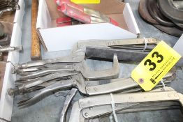 (5) VISE GRIP 18R CLAMPS