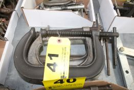 """(4) 6"""" C-CLAMPS"""