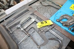 (3) BAR CLAMPS & (1) CLAMP
