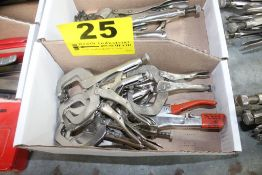 LARGE QUANTITY OF 6R VISE GRIP CLAMPS